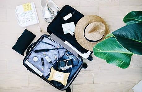 Kufry, tašky a další vychytávky
