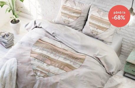 Lenjerii de pat pentru una sau două persoane