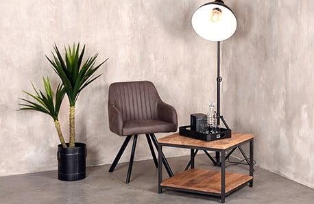 Experimentujte s industriálním nábytkem LABEL51