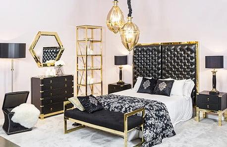 Corpuri de iluminat cu design elegant, canapele şi fotolii