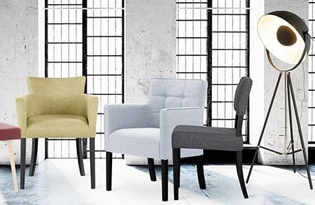 Francouzský šarm židlí zbukového dřeva