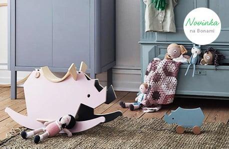 Dekorace, hračky, povlečení...