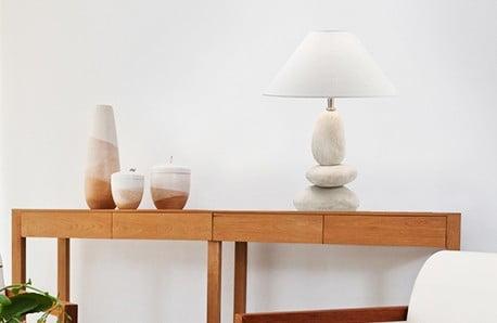 Stropní, nástěnné i stolní osvětlení