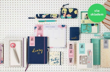 Kouzelné zápisníky, diáře a spoustu dalších drobností z papírnictví ♥
