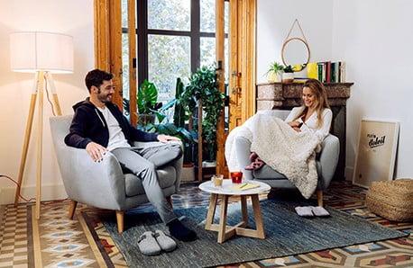 O casă comodă cu  Støraa și La Forma