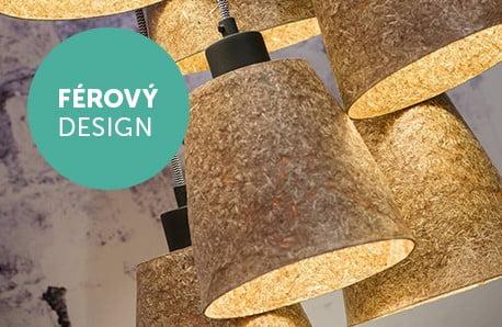 Lampy a závěsná svítidla z recyklovaných materiálů