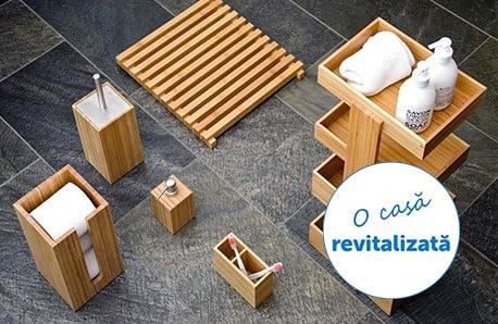 Piese de mobilier din lemn de stejar