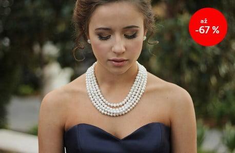 Krásné šperky z organických perel ♥