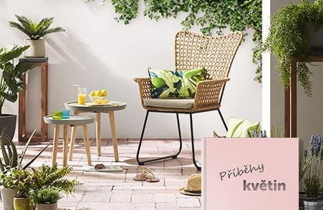 Pohodlný venkovní nábytek, co šíří pohodu