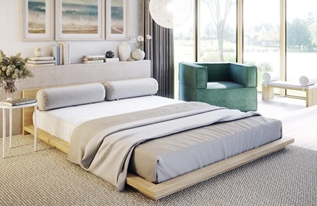 Vyberte si postel, stylovou komodu i měkkoučké povlečení