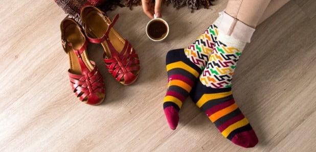 Șosete colorate - arma perfectă împotriva monotoniei