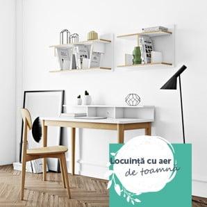 Accesorii și mobilier în stil scandinav