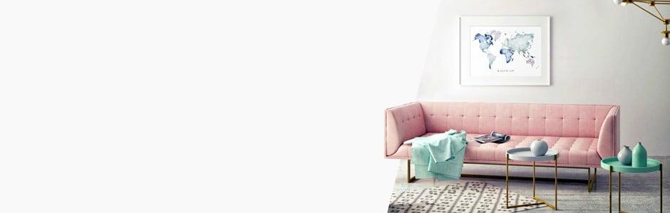 Leo La Douce, něžně minimalistický interiér
