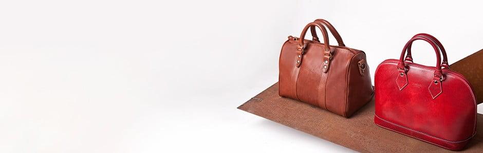 Italské kabelky z jemné telecí ahovězí kůže