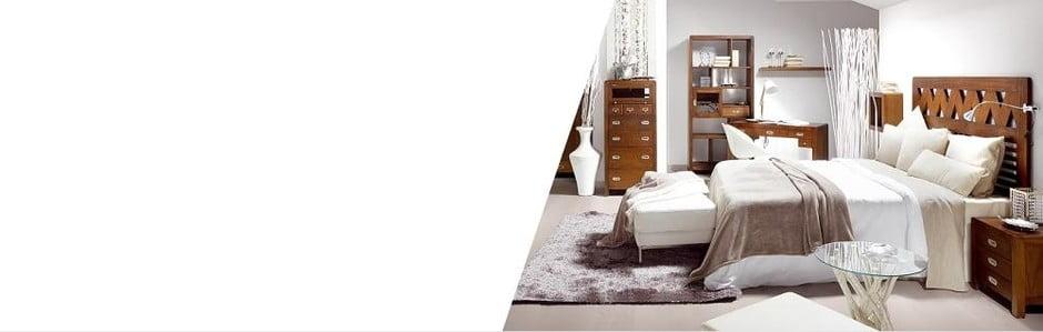 Koloniální nábytek z exotického dřeva