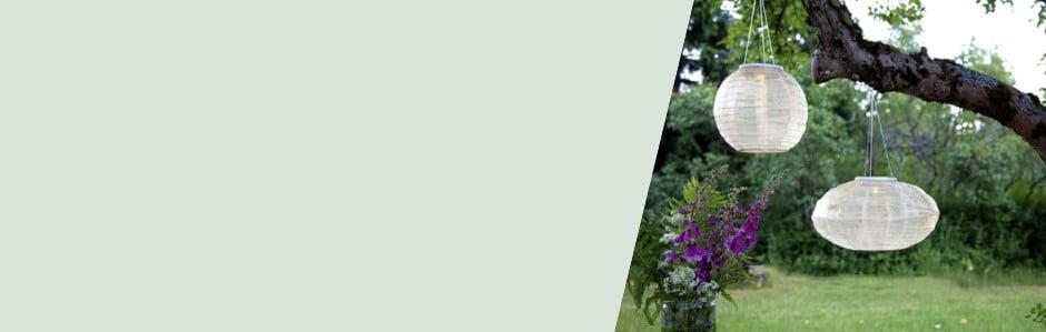 Rozjasněte zahradu venkovnímisvítidly