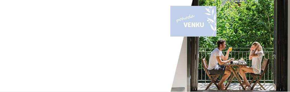 Nábytek a doplňky pro váš balkon či terasu