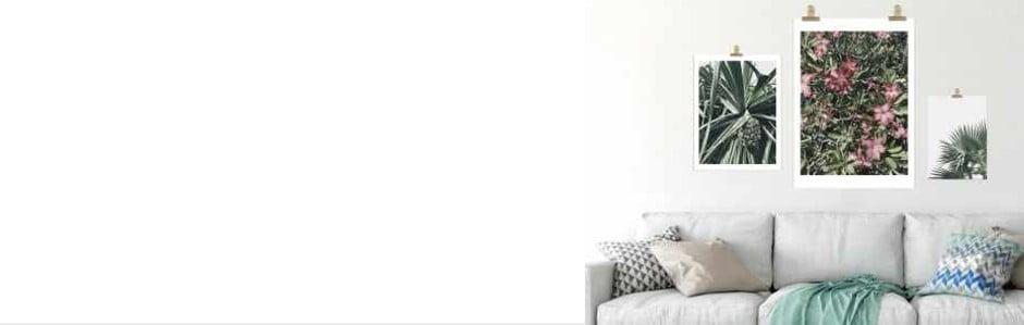 4 tipy, jak proměnit své stěny vumělecké plátno