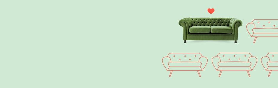 O canapea cum nu s-a mai văzut ♡
