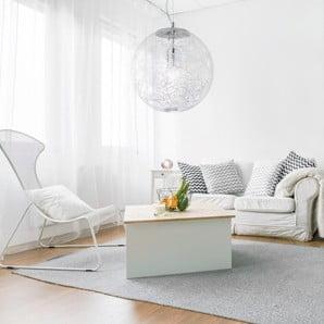 Mobilier și accesorii pentru interior, în albul strălucitor al zăpezii