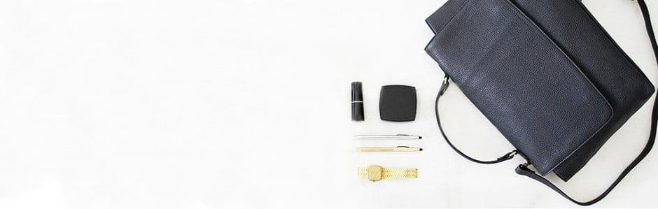 Poșete din piele feminine și elegante