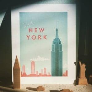 Nádherné plakáty s milovanými destinacemi