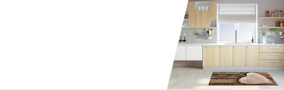 Do kuchyně jedině koberec, který se dá vyprat!