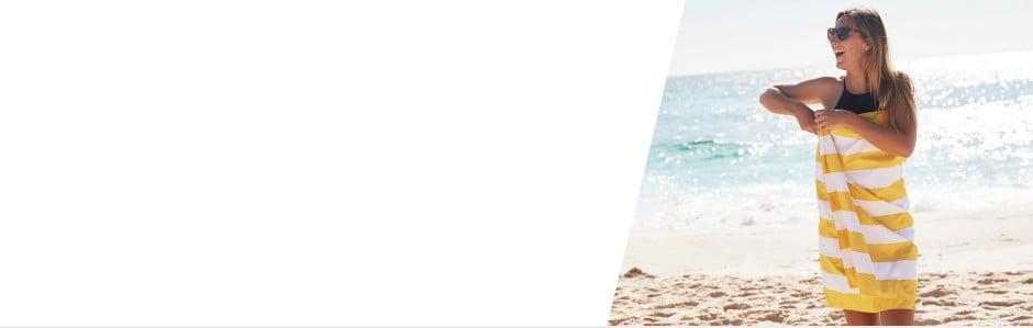 Rychleschnoucí plážové osušky Dock and Bay