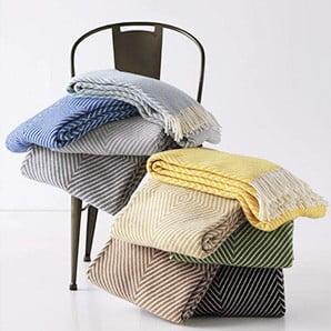 Měkoučké deky v pastelových barvách