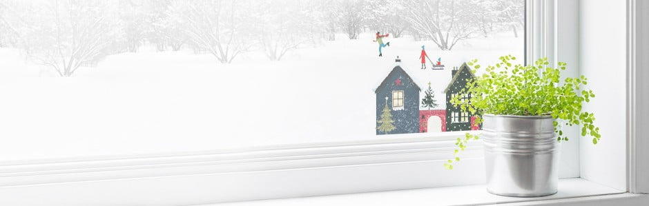Vylepte si Vánoce do oken