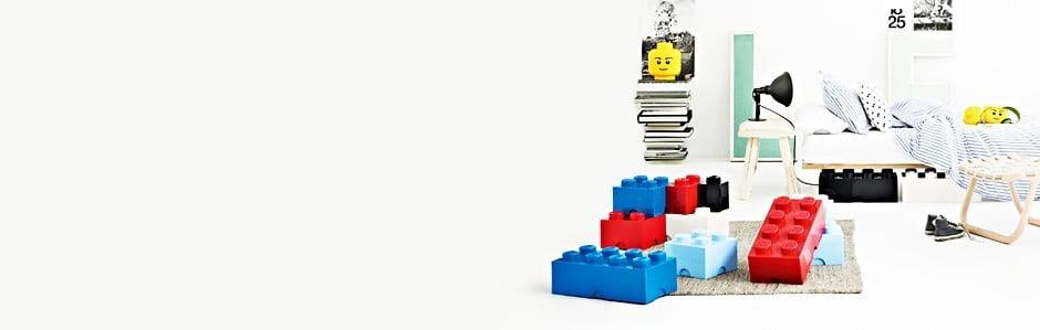 Colecția LEGO® revigorează camera copiilor