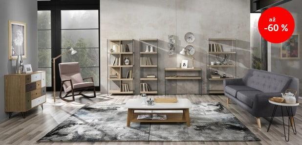 Nábytek a doplňky s energickou mimořádností