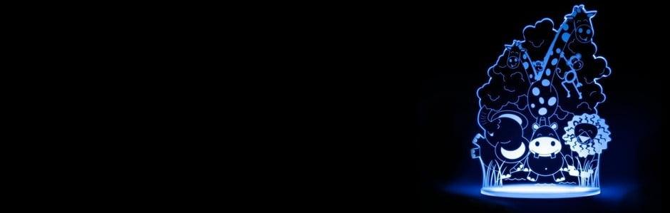 Dětská světýlka Aloka