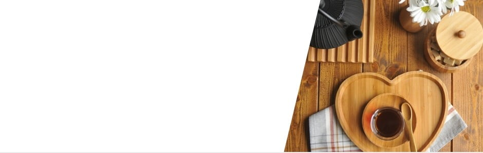 O bucătărie stilată cu Bambum