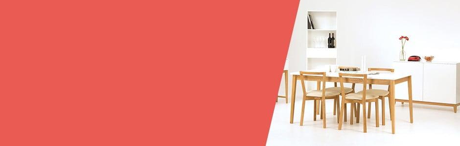 Reduceri la mobilier: dining room-ul și spațiul de lucru