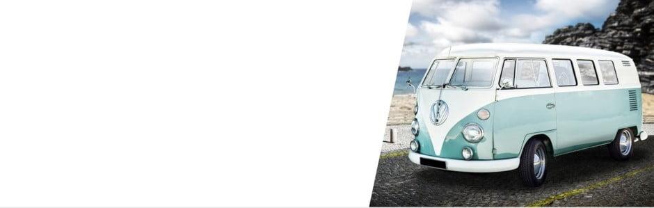 Urcați vă rog, sosește vechiul Volkswagen!