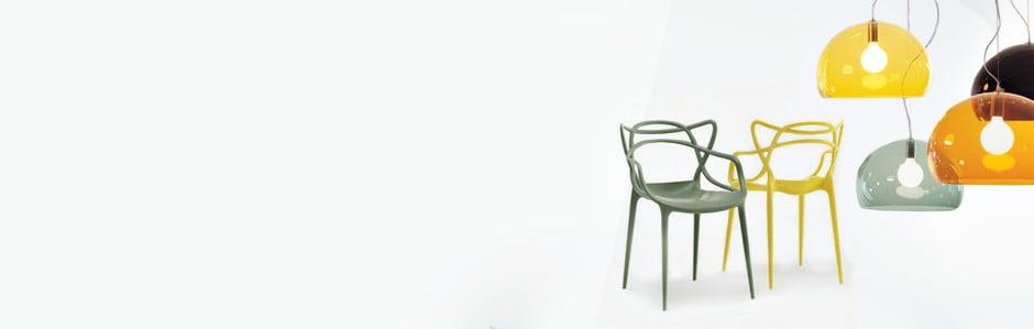 Barevný minimalismus od Kartell