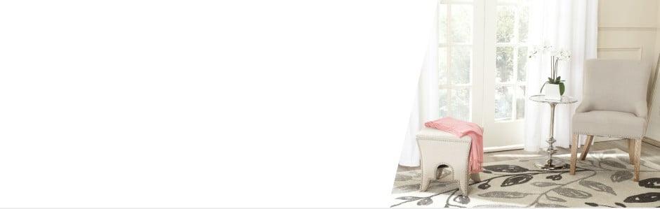 Safavieh: Oslnivý nábytek akoberce v glamour stylu