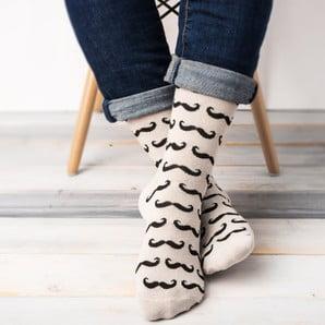 Veselé unisex ponožky ve velikosti 39/45