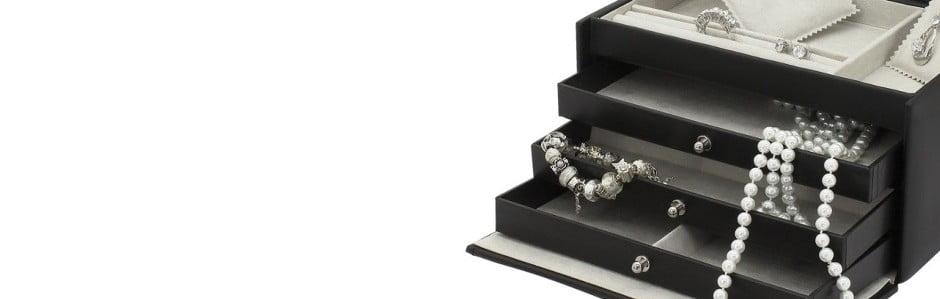 Ručně vyráběné trezory na šperky Friedrich Lederwaren