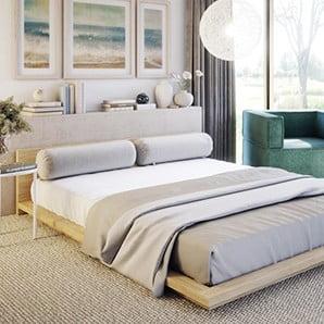 Alegeți un pat comod, un dressing stilat și o lenjerie de pat cât mai fină
