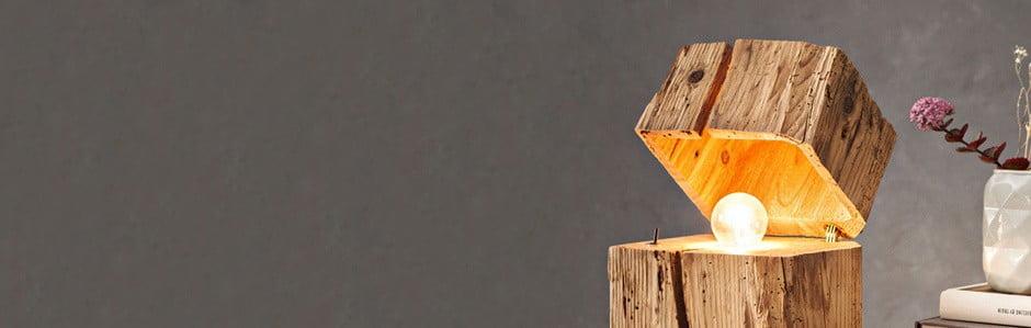 Almleuchten, lămpi din lemn cu istorie