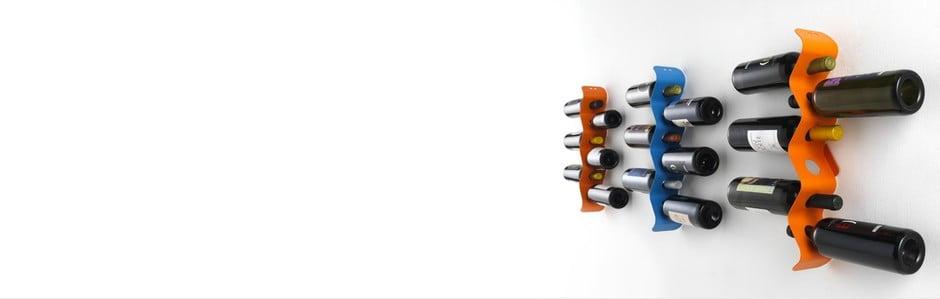 Designové stojany na vinné lahve