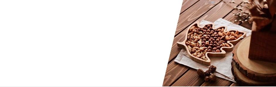 Bambusové kuchyňské aservírovací doplňky