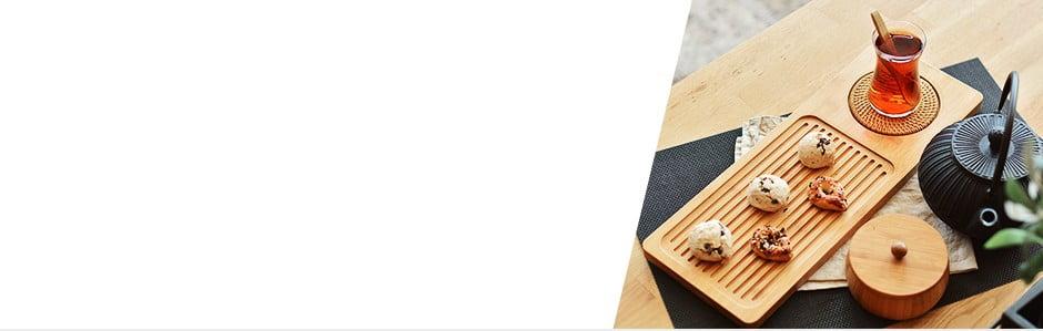 Lemnul de bambus în bucătărie