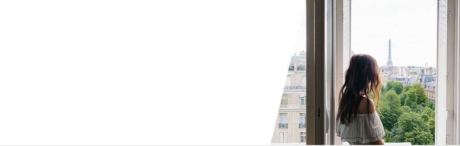 Un apartament chic,cu vederelaTurnul Eiffel