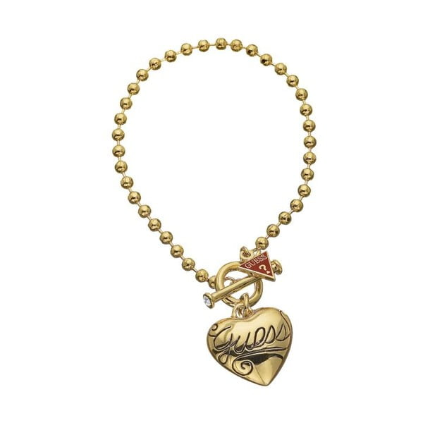 Náramek Guess Sweet Gold Heart