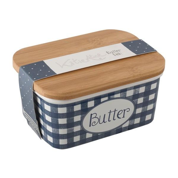 Keramická dóza na maslo Creative Tops Vintage Indigo