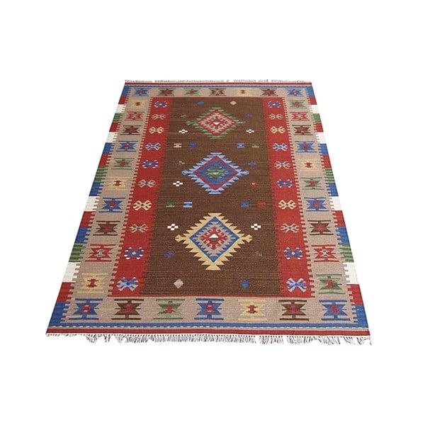 Vlněný koberec Bakero Kilim Classic K39, 155x215 cm