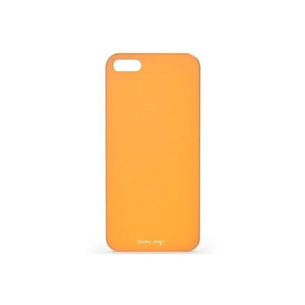 Kryt Happy Plugs na iPhone 5/5S, oranžový